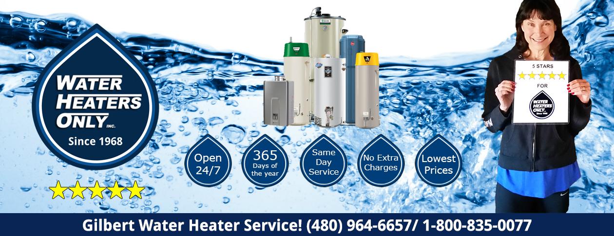 Gilbert Water Heaters Only Repair Installation